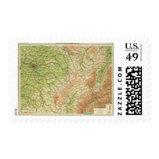 France northeastern section, environs of Paris Postage