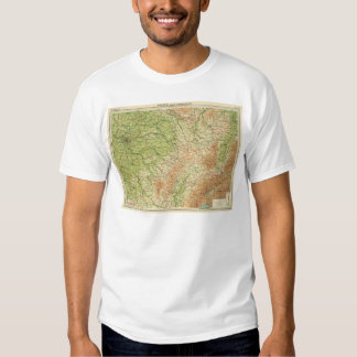 France northeastern section, environs of Paris T-Shirt