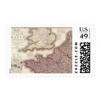 France Northwest Postage
