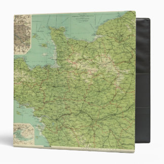 France northwestern section, environs of Paris Binder