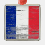 France Old Paint Ornament