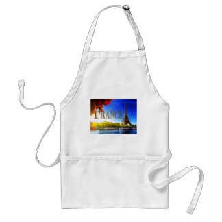 France on the Seine with Eiffel Tower Apron