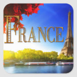 France on the Seine with Eiffel Tower Stickers