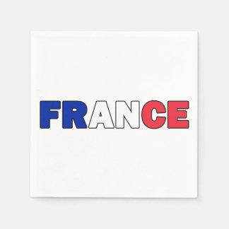 France Paper Napkin