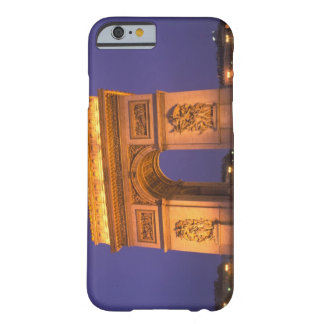 France, Paris, Arc de Triomphe at dusk. Barely There iPhone 6 Case