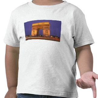 France, Paris, Arc de Triomphe at dusk. Shirts