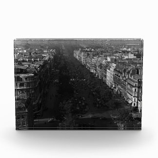 France Paris champs elysees avenue 1970 Acrylic Award