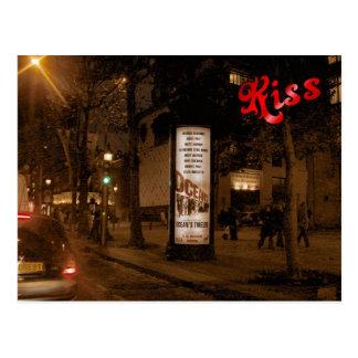 France Paris Champs Elysees Postcard