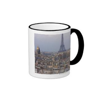 France, Paris, cityscape with Eiffel Tower Coffee Mug