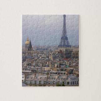 France Paris cityscape with Eiffel Tower Puzzles