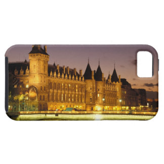 France, Paris, Conciergerie and river Seine at iPhone 5 Covers