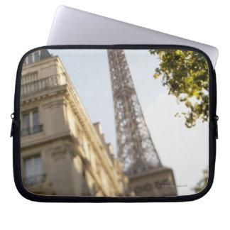 France, Paris, Eiffel Tower 2 Computer Sleeve
