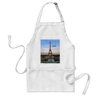 France Paris Eiffel Tower (by St.K) Adult Apron
