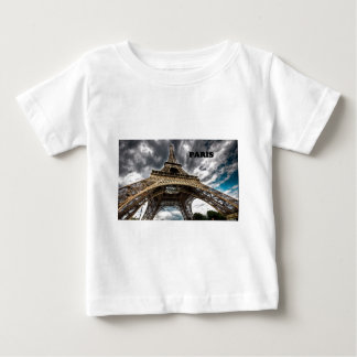France Paris Eiffel Tower (by St.K) Baby T-Shirt