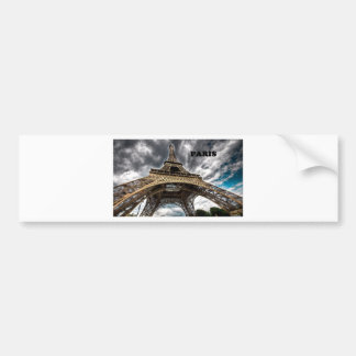 France Paris Eiffel Tower (by St.K) Bumper Sticker