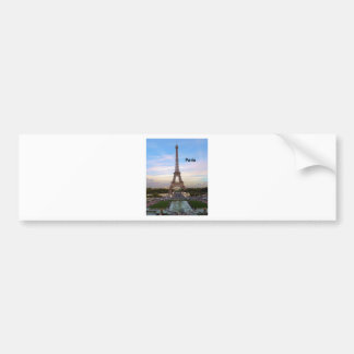 France Paris Eiffel Tower (by St.K) Bumper Sticker