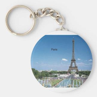 France Paris Eiffel Tower by St K Key Chains