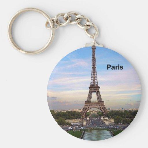 France Paris Eiffel Tower (by St.K) Key Chain