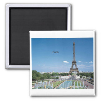 France Paris Eiffel Tower (by St.K) Refrigerator Magnets