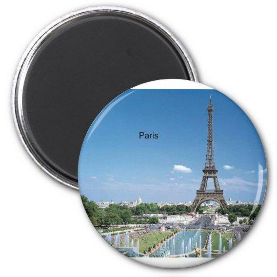 France Paris Eiffel Tower (by St.K) Magnet
