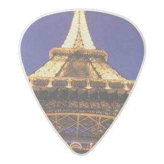 FRANCE, Paris Eiffel Tower, evening view Acetal Guitar Pick