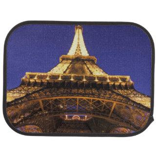 FRANCE, Paris Eiffel Tower, evening view Car Mat