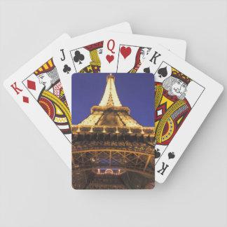 FRANCE, Paris Eiffel Tower, evening view Card Deck