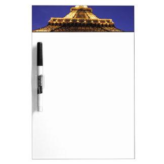 FRANCE, Paris Eiffel Tower, evening view Dry-Erase Board