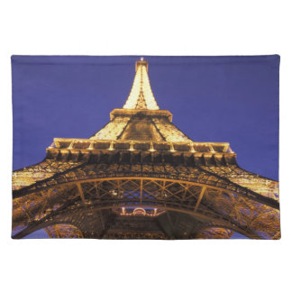 FRANCE, Paris Eiffel Tower, evening view Place Mat