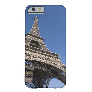 France, Paris, Eiffel Tower, low angle view Barely There iPhone 6 Case