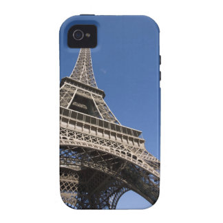 France Paris Eiffel Tower low angle view Vibe iPhone 4 Covers