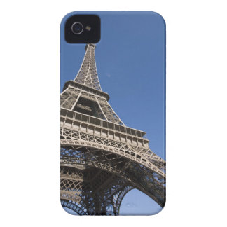 France Paris Eiffel Tower low angle view iPhone 4 Case-Mate Case