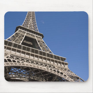 France, Paris, Eiffel Tower, low angle view Mouse Pad