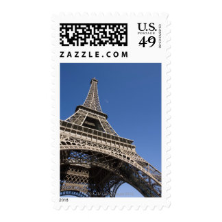 France, Paris, Eiffel Tower, low angle view Stamps