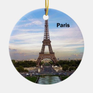 France Paris Eiffel  tower (new) (St.K) Ceramic Ornament