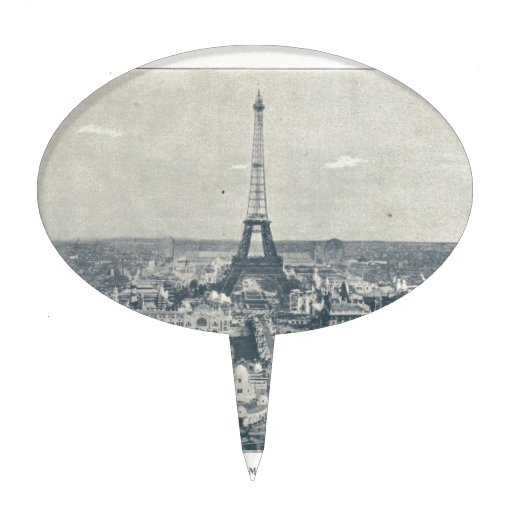 France, Paris, Expo 1900 Cake Toppers