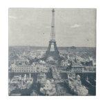 France, Paris, Expo 1900 Tile