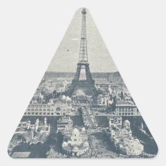 France, Paris, Expo 1900 Triangle Sticker