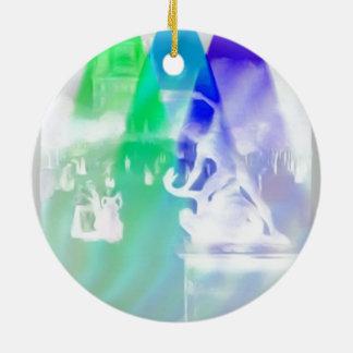 France, Paris, Jardin de Tuilleries, Christmas Tree Ornaments