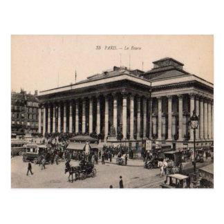 France Paris, La Bourse, 1910 Postcard