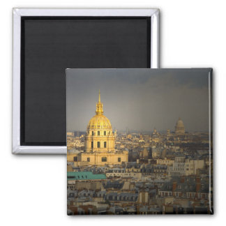 France, Paris. Les Invalides seen from the 2 Inch Square Magnet