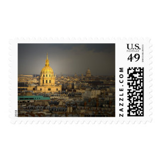 France, Paris. Les Invalides seen from the Postage