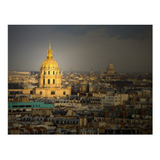 France, Paris. Les Invalides seen from the Postcard
