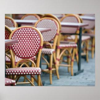 FRANCE PARIS Montmartre Place du Tertre Cafe Posters