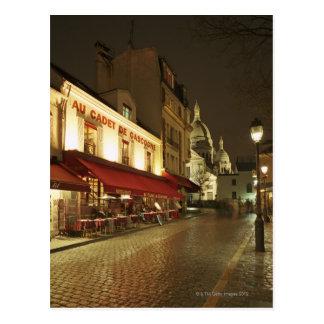 France,Paris,Montmartre Postcard
