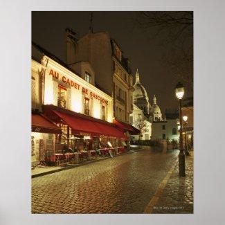 France,Paris,Montmartre Print