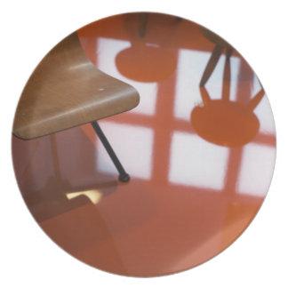 France, Paris, Museum of Decorative Art, exhibit Melamine Plate