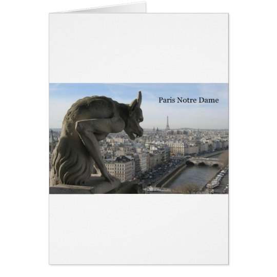 France Paris Notre Dame (by St.K) Card