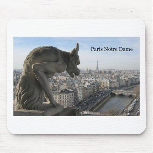 France Paris Notre Dame (by St.K) Mouse Pad
