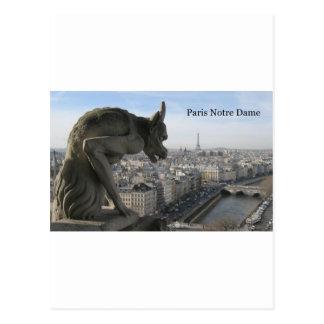 France Paris Notre Dame (by St.K) Postcard